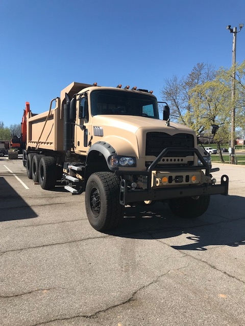 Mack Defense Receives Order To Deliver 99 Of Army's New Heavy Dump Truck