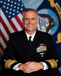 Vice Chief of Naval Operations Adm. Robert Burke