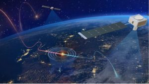 Concept art of hypersonic missile defense systems. (Image: Northrop Grumman)
