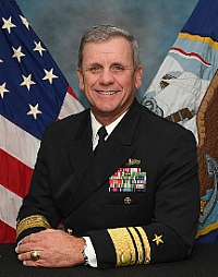 Vice Adm. Richard Brown, Commander of Naval Surface Forces and Naval Surface Force, U.S. Pacific Fleet. (Photo: U.S. Navy)