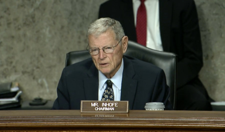 Inhofe Leads Bill To Hold Ligado Responsible For Costs To Mitigate Interference With Any GPS Systems