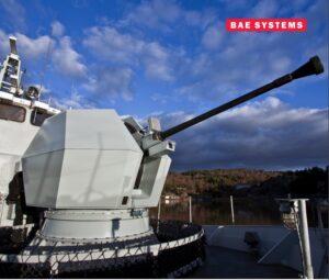 The Bofors 40 Mk4 Naval Gun. (Photo: BAE Systems)