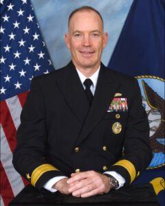 Rear Adm. Douglas Small, commander of Naval Information Warfare Systems Command. (Photo: U.S. Navy)