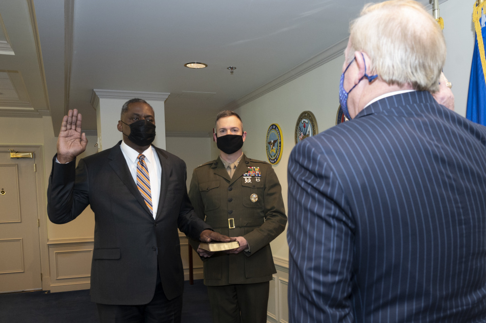 Lloyd Austin In Place As Biden's Defense Secretary