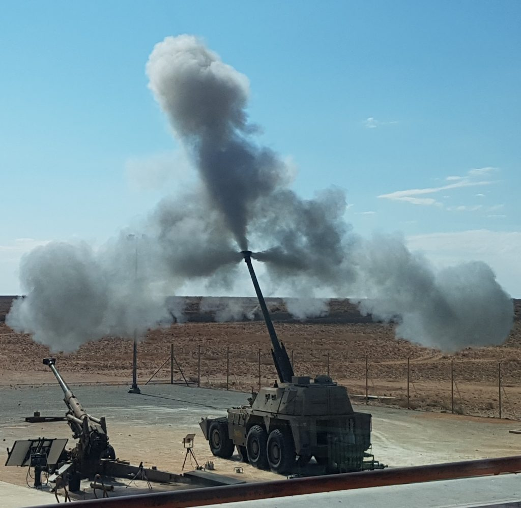 Rheinmetall, Northrop Grumman Partner On Extended Range 155mm Artillery Ammo