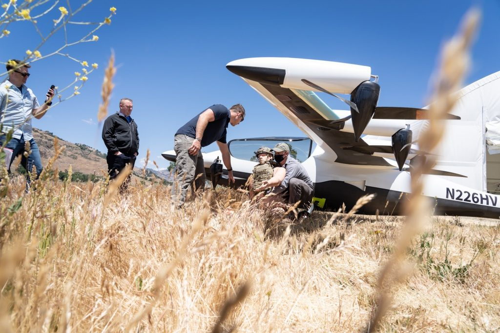 Agility Prime Completes First eVTOL Operational Exercise