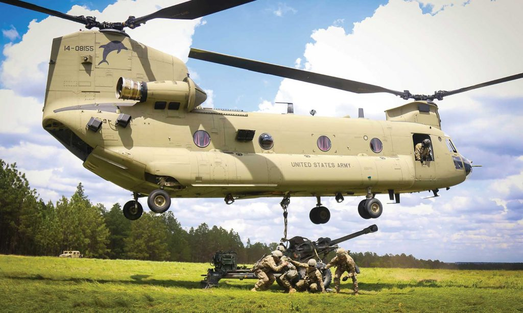 Boeing Receives Nearly $600 Million To Deliver 14 H-47 Chinooks To UK