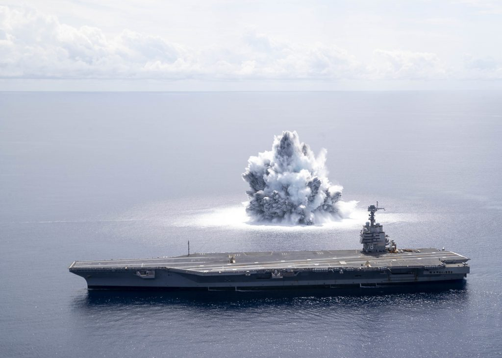 Ford Carrier Completes First Shock Trials Event