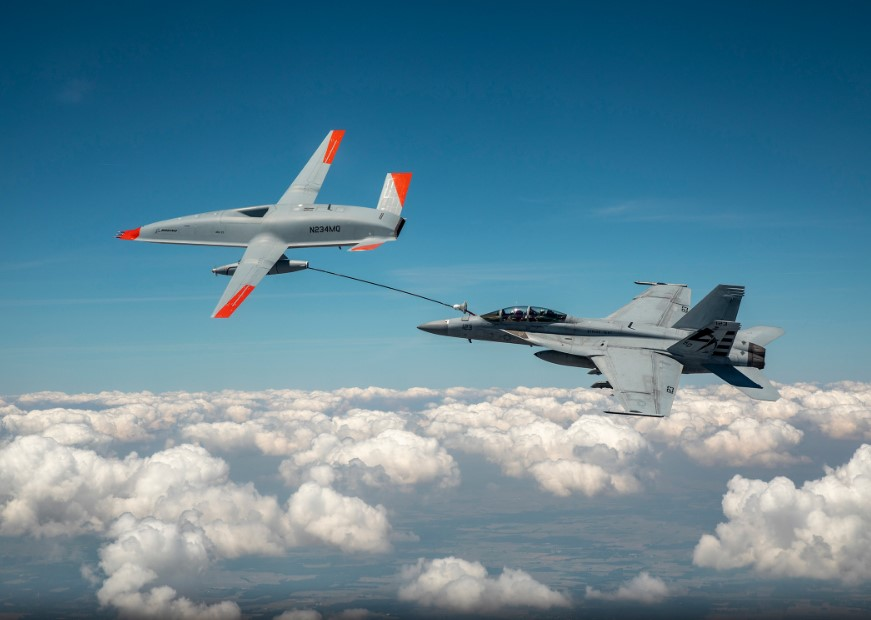 Boeing Demos MQ-25 MUM-T Capabilities Without Ground Control Comms