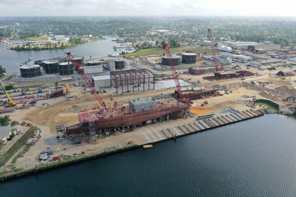 Eastern Shipbuilding, Huntington Ingalls Also Bid On Coast Guard OPC Program