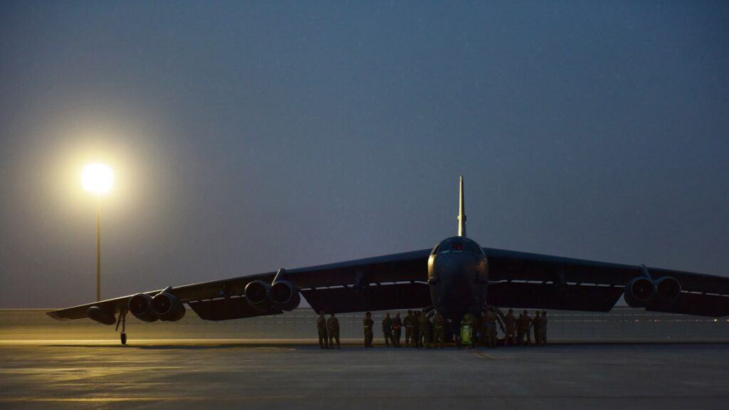 U.S. Air Force Names Rolls Royce as Choice for B-52 Re-Engining