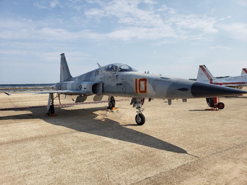 Navy Delivers First F-5N Upgraded Adversary Fighter