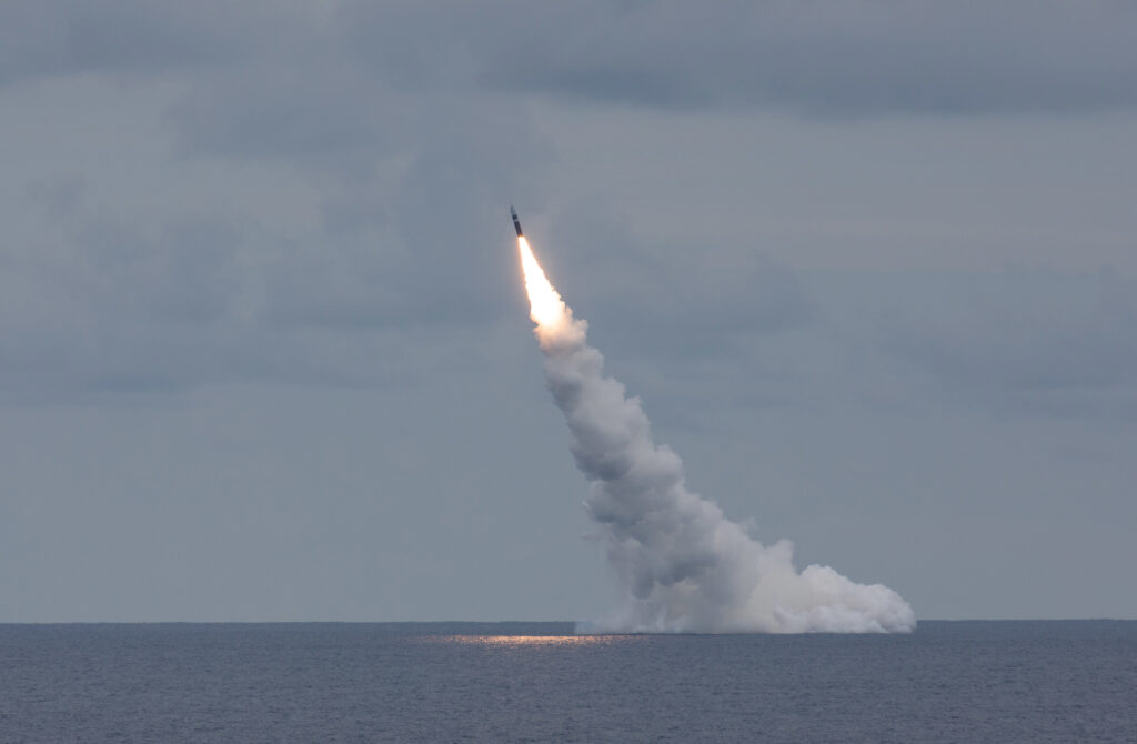 Navy Conducts Successful Trident Missile Test