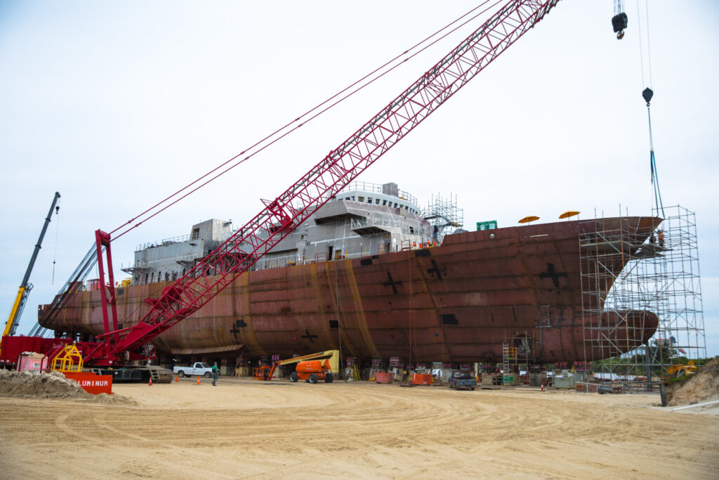 Eastern Shipbuilding Commissions C5ISR Production Facility For Offshore Patrol Cutters